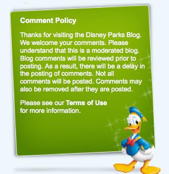 disney comments