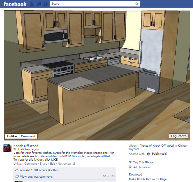 facebook kitchen voting