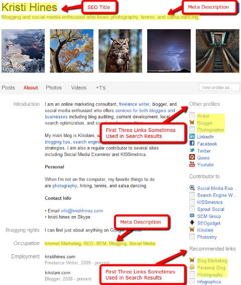 Google+ Profil sinnvoll ausfüllen!