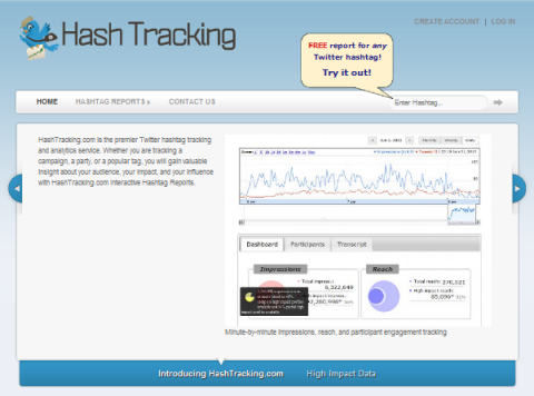 hash tracking