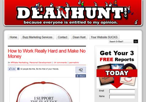 dean hunt