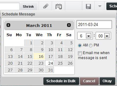 HootSuite Scheduling Step 2