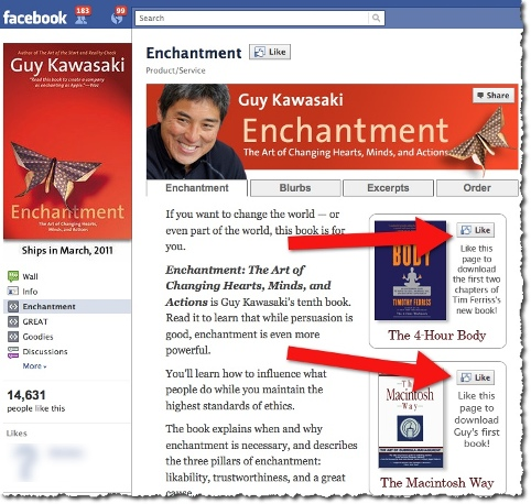 Guy Kawasaki - Enchantment Facebook Page