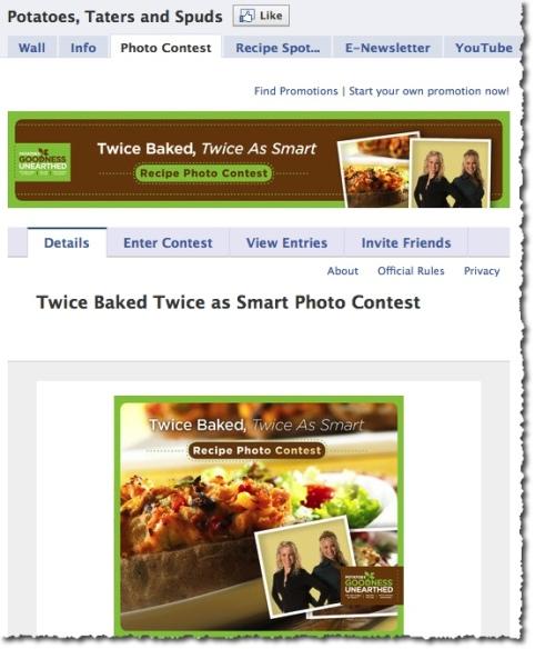 Twice Baked, Twice As Smart Recipe Photo Contest