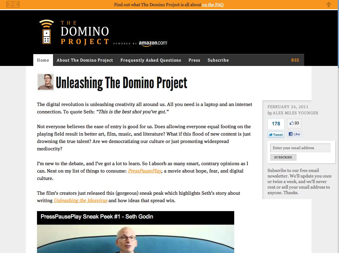 seth domino project
