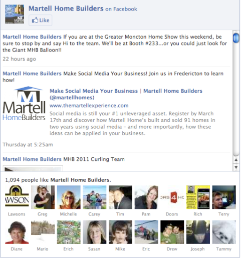 martell facebook