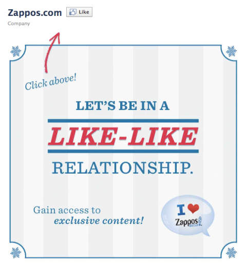 zappos welcome tab