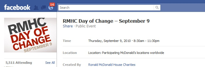 day of change event