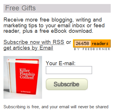 chris garrett free ebook