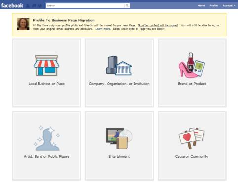 facebook migration