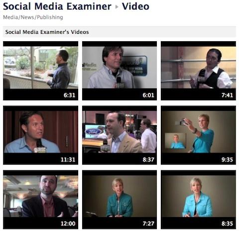 social media examiner library