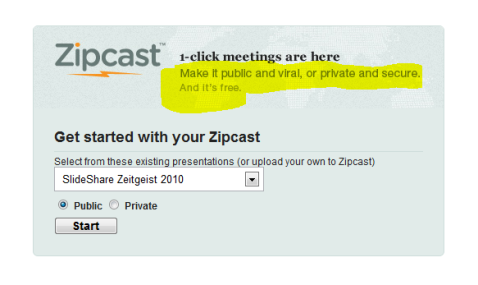 zipcast meetings