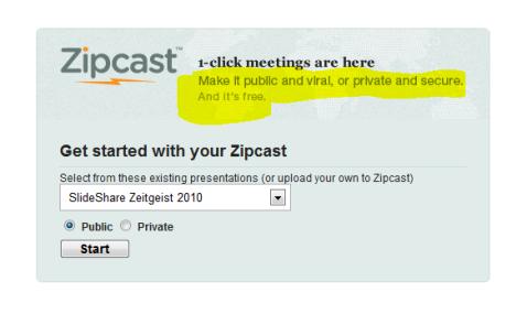 zipcast meetings