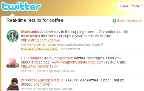 promoted tweet twitter advertising