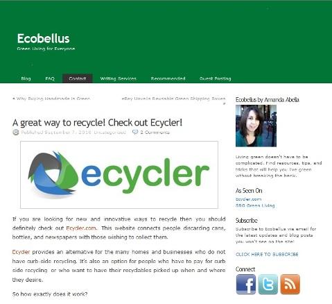 ecobellus blog