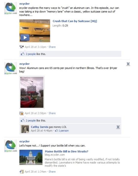 ecycler facebook