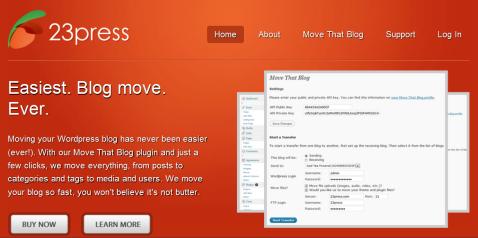 move that blog
