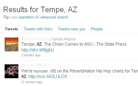 twitter search city tempe tweets redacted