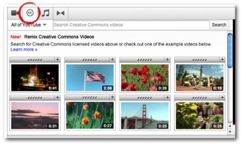 youtube creative commons