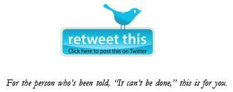retweet button