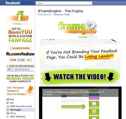 iframe engine