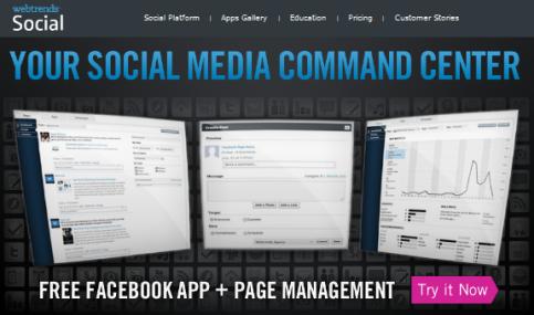 webtrends social
