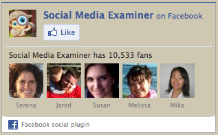 social media examiner on facebook