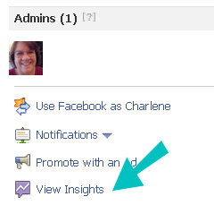 facebook insights view
