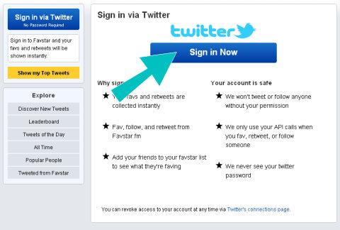 favstar twitter signin
