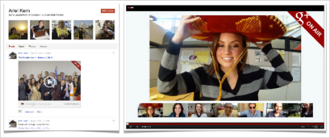 google+ hangouts on air