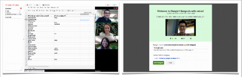 google+ hangouts with docs