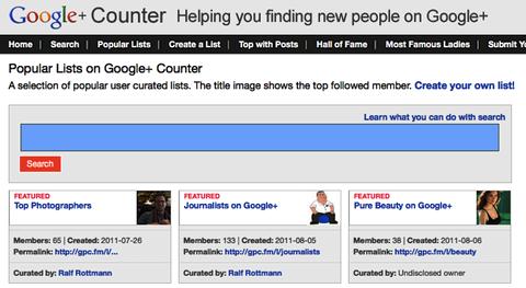counter google+