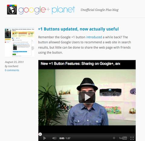 google+ planet