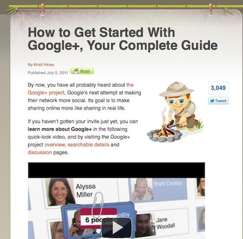sme google+ guide