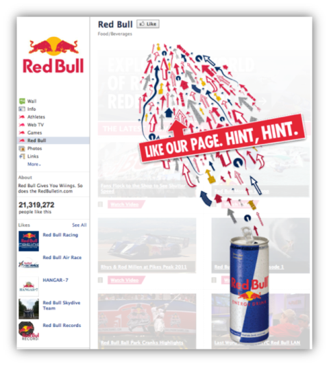 red bull welcome