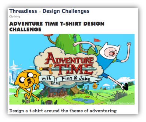 threadless design