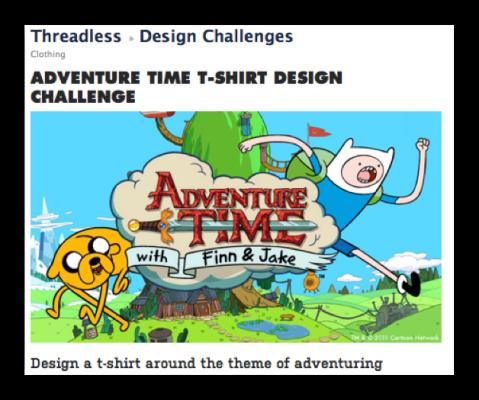 threadless design