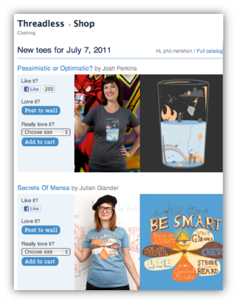threadless photos