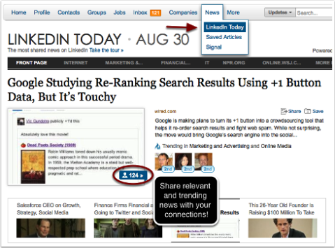 linkedin today