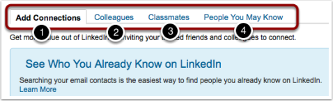 see who you know