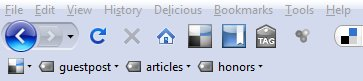 Delicious Firefox Add-On Bookmarks Toolbar