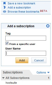 Delicious Subscriptions