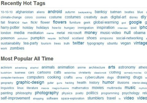 StumbleUpon Tags