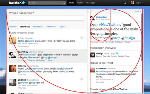 new twitter user interface