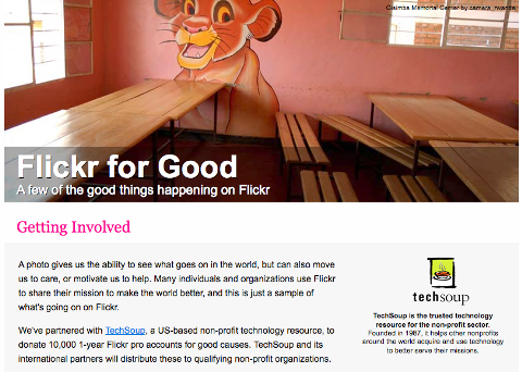 Flickr for Good