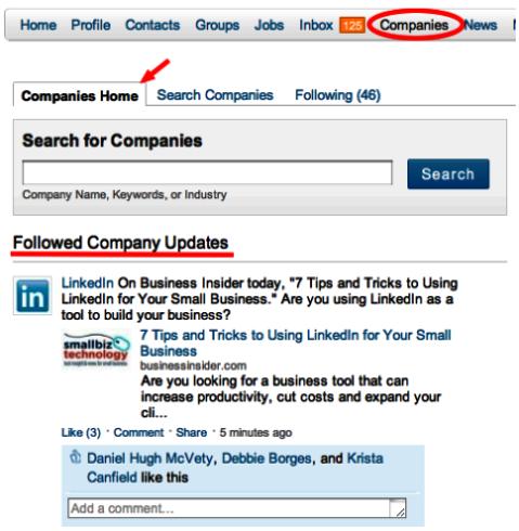 LinkedIn Companies
