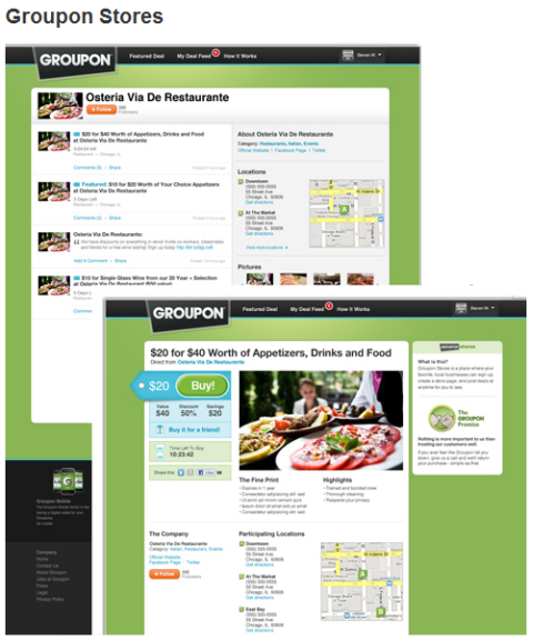groupon stores and groupon deals