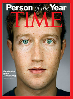 mark zuckerberg on time