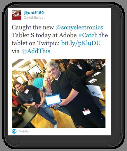 sony catch tablet adobe