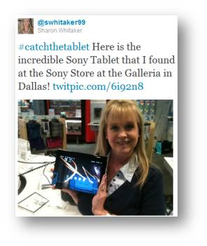 sony catch tablet dallas